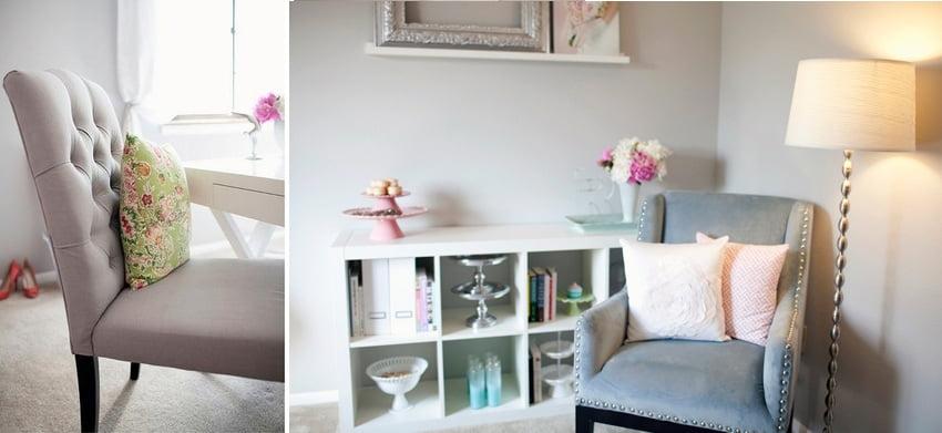 biuro białe meble IKEA
