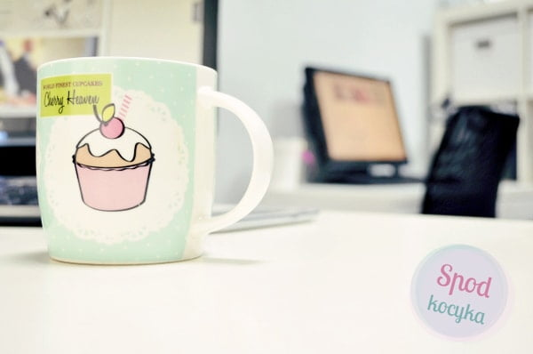office of wedding consultant cupcake cup