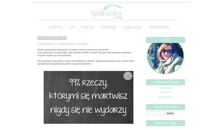 nowe projekt bloga