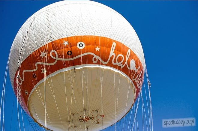 lot balonem Warszawa