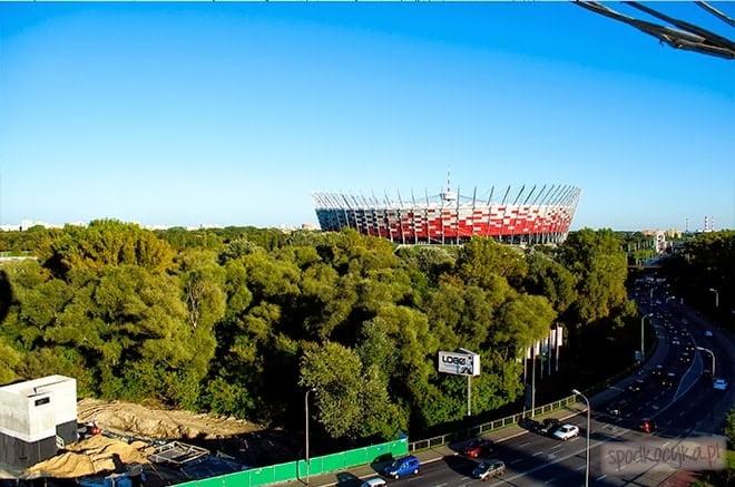 lot balonem Warszawa Stadion Narodowo