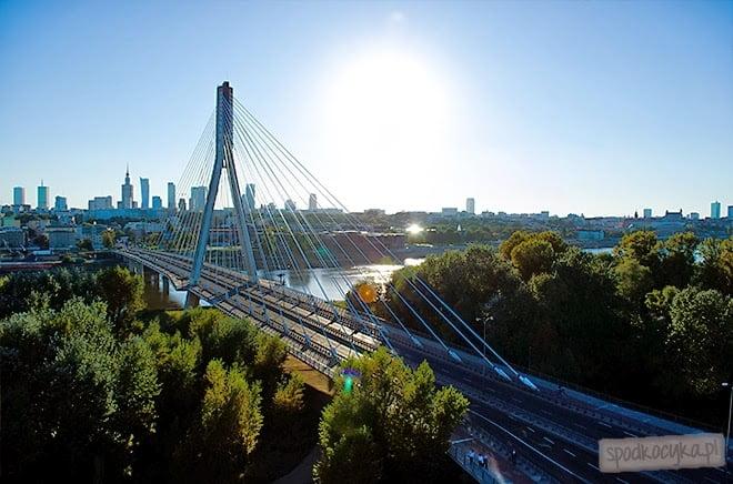 lot balonem Warszawa Most Świętokrzyski