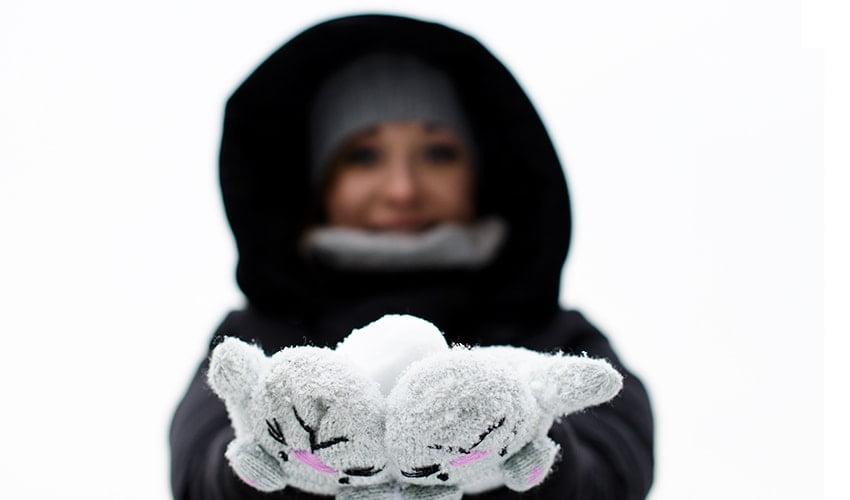 śnieg zima bloger