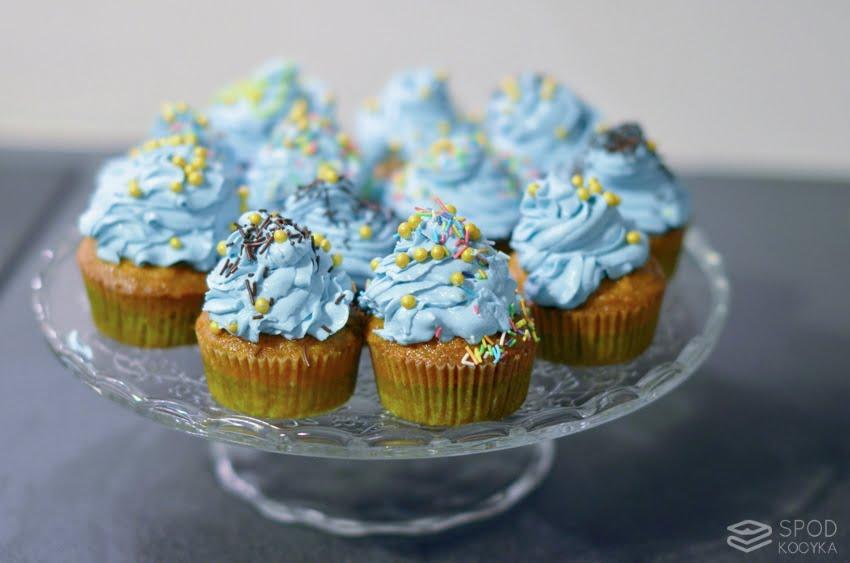 cupcakes marchewkowe