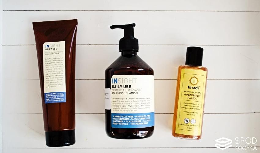 zdrowe i piękne włosy pielęgnacja olejek khadi naturalny szampon odżywka
