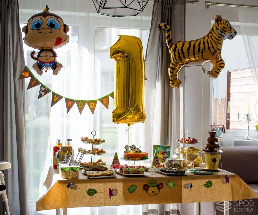 1 urodziny safari