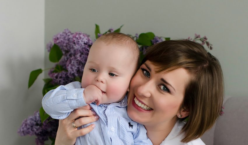 aktywna zdrowa szczęśliwa mama