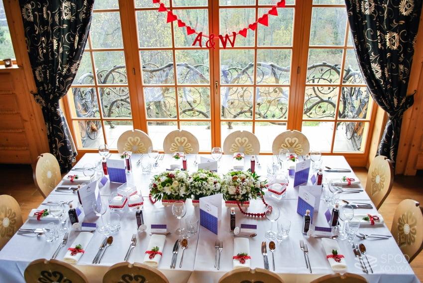 góralskie wesele dekoracje ślubne