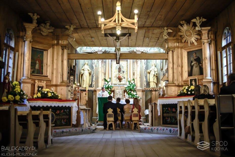 Kościół Matki Bożej Częstochowskiej w Zakopanem ślub