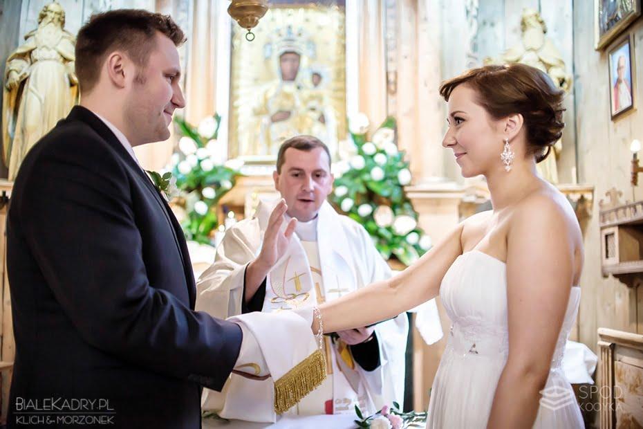 ślub w Kościele Matki Bożej Częstochowskiej w Zakopanem