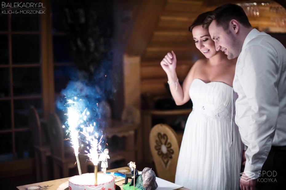 intimate wedding and reception in Zakopane