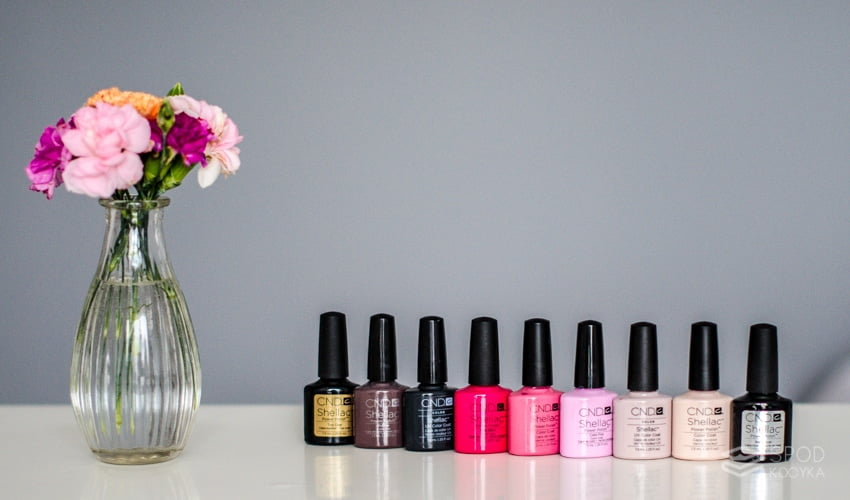 hybrid manicure at home shellac varnishes