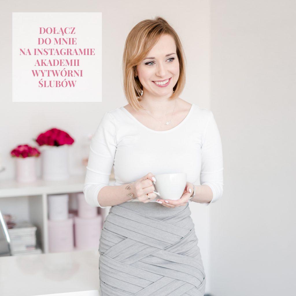 kurs na wedding plannera konsultanta ślubnego instagram