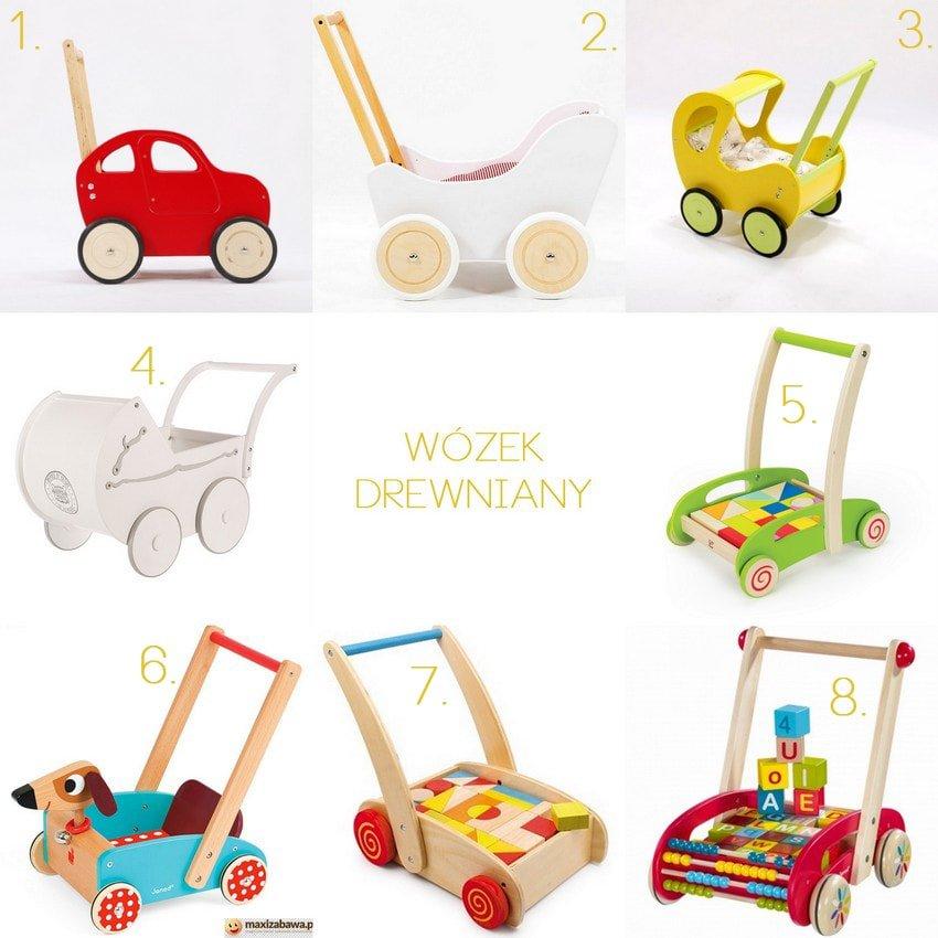 drewniany wózek dla lalek blog