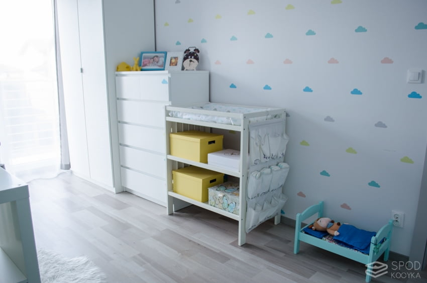 baby boy's room pastel colors