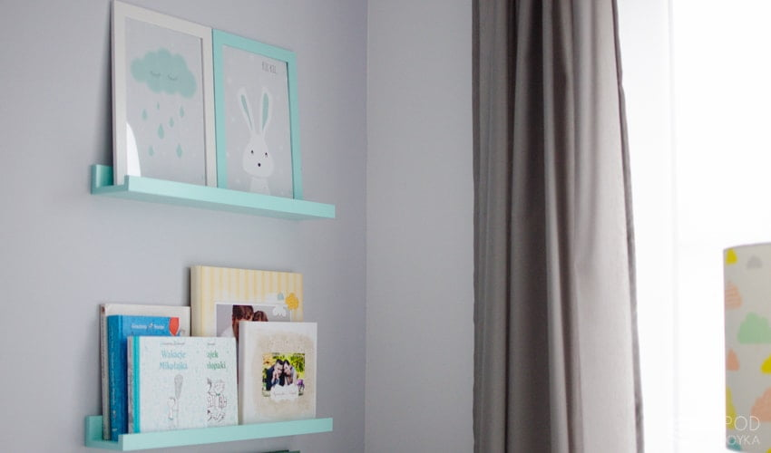 mint shelves for children