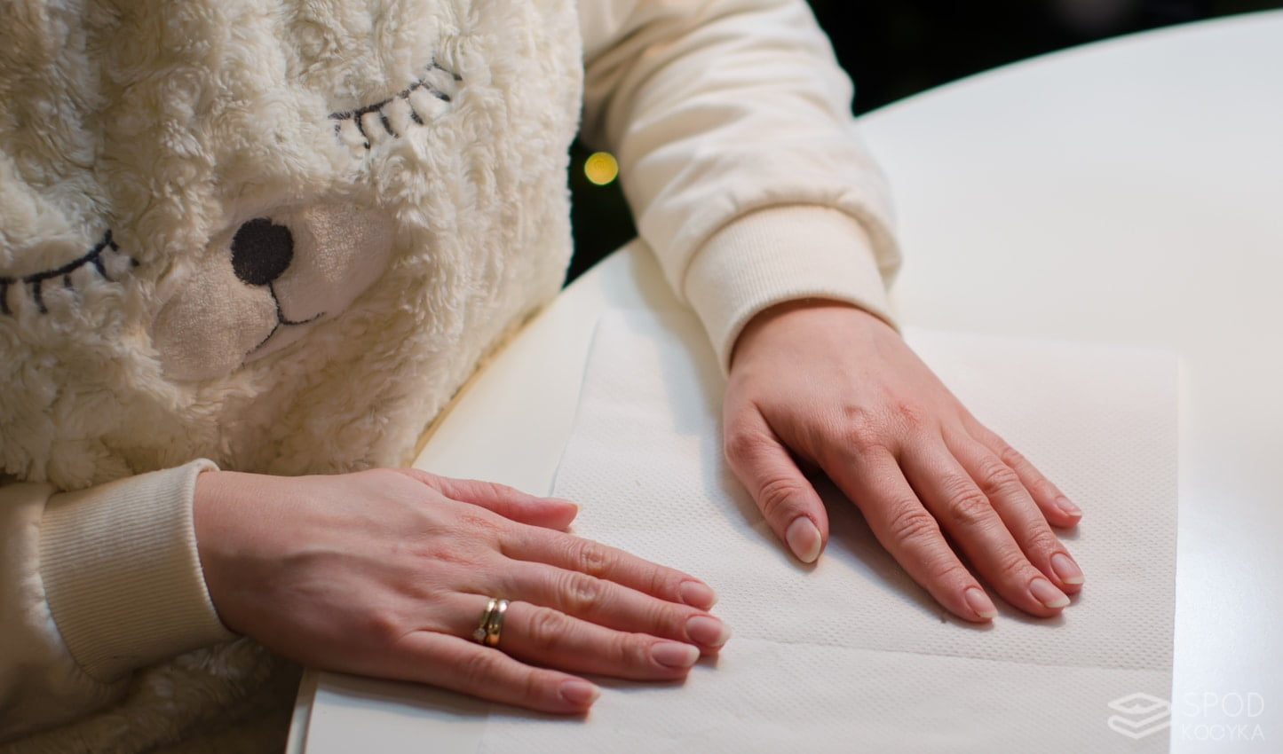 paznokcie po manicure hybrydowym po hybrydzie
