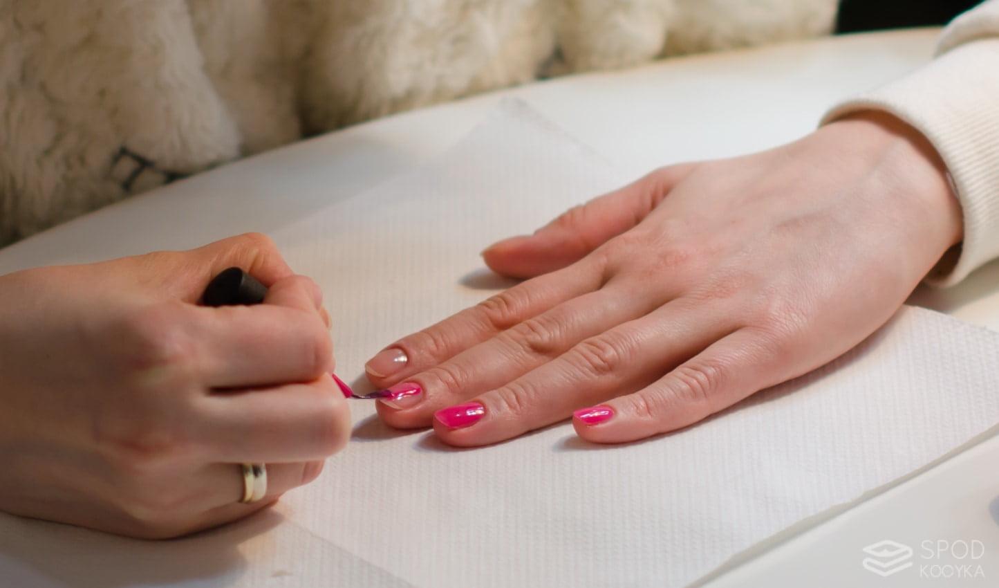 jak zrobić shellac manicure