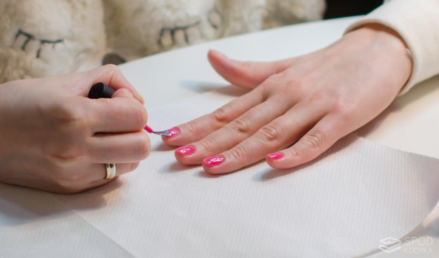 manicure hybrydowy blog
