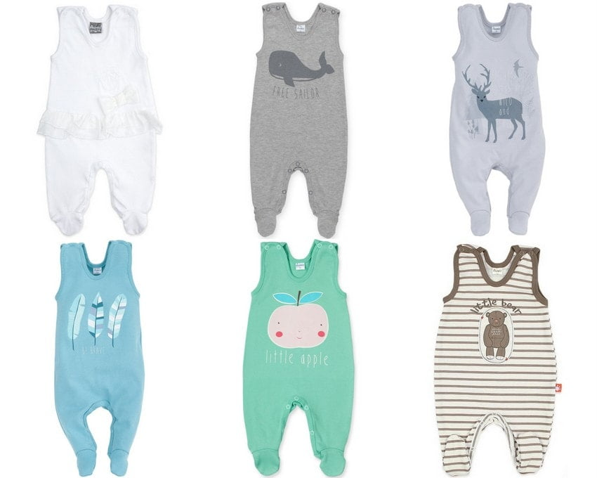 newborn clothes, how many sleepers