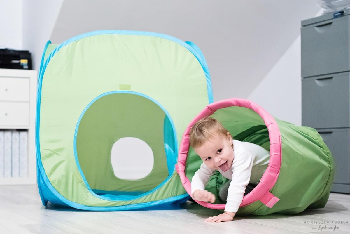 Nasz wybór: BUSA Tunel dziecięcy, IKEA