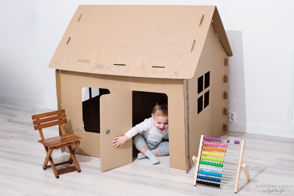 Nasz wybór: Domek z kartonu, Obi