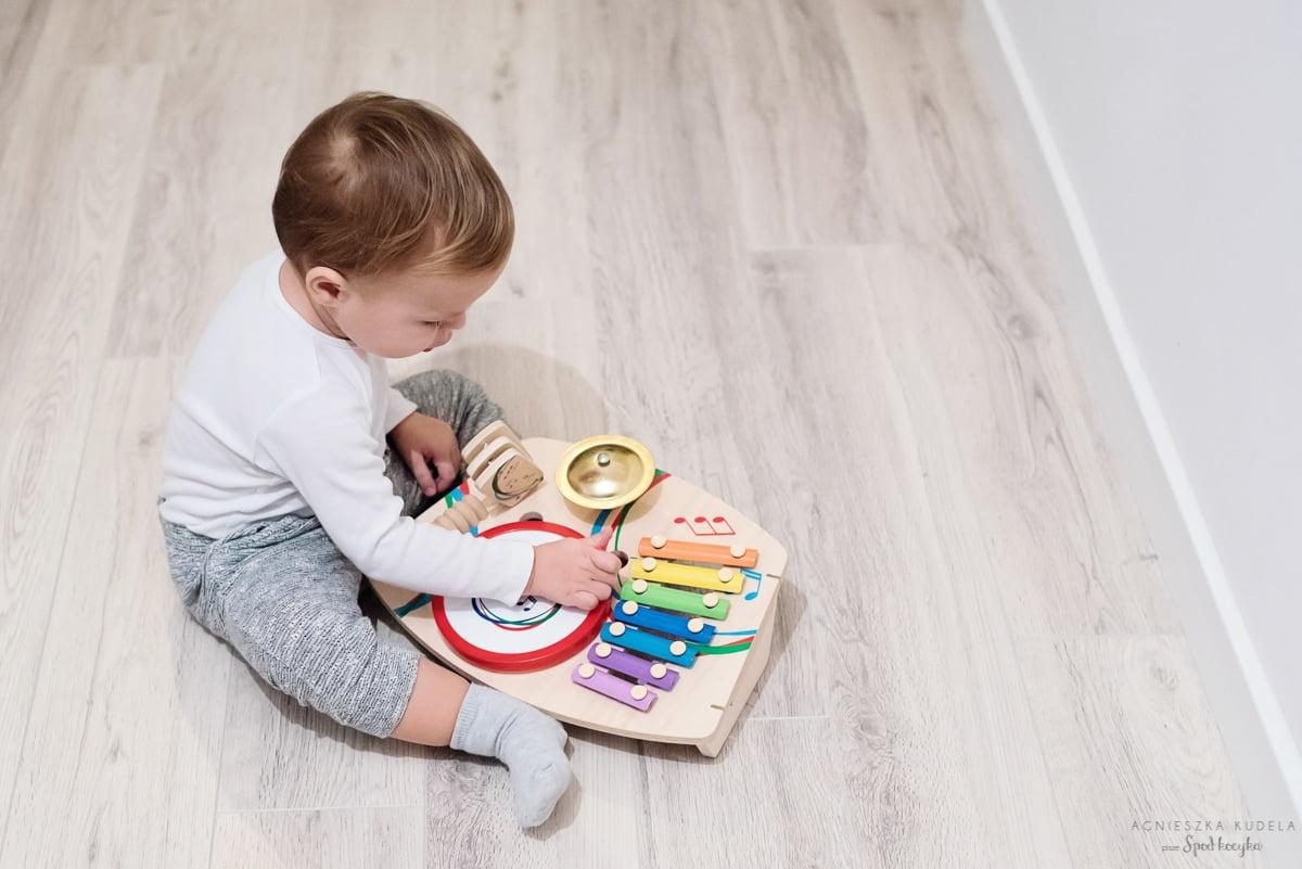zabawki zestaw instrumentów