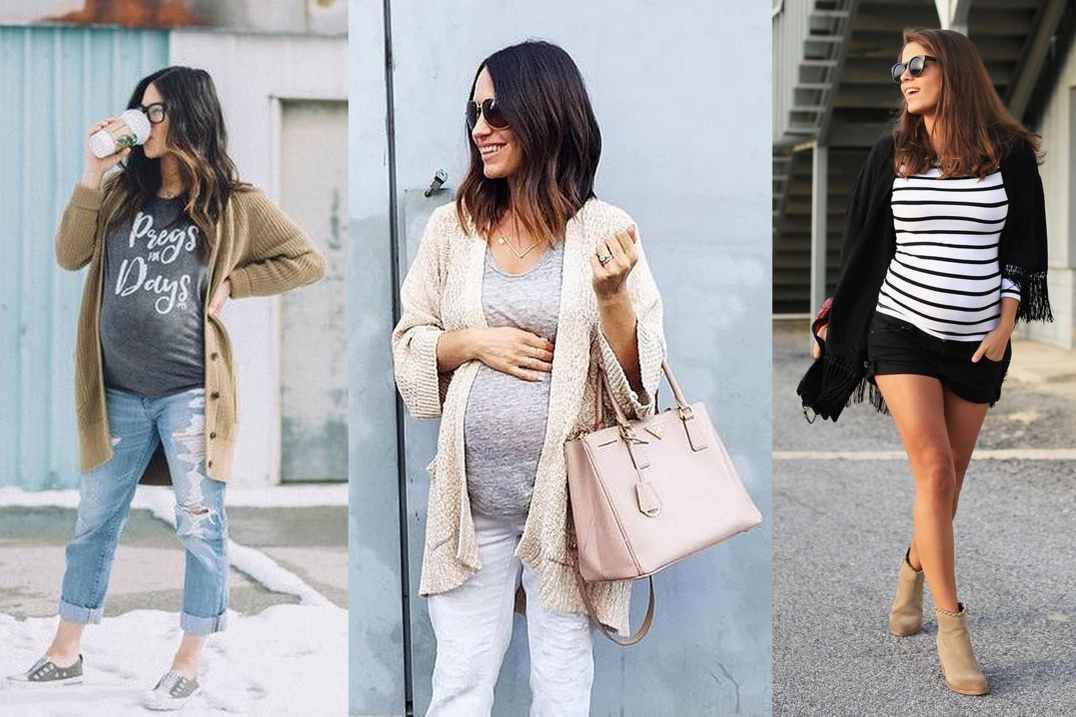moda ciążowa bluzka