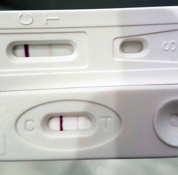 pozytywny test ciążowy płytkowy 27 dzień cyklu