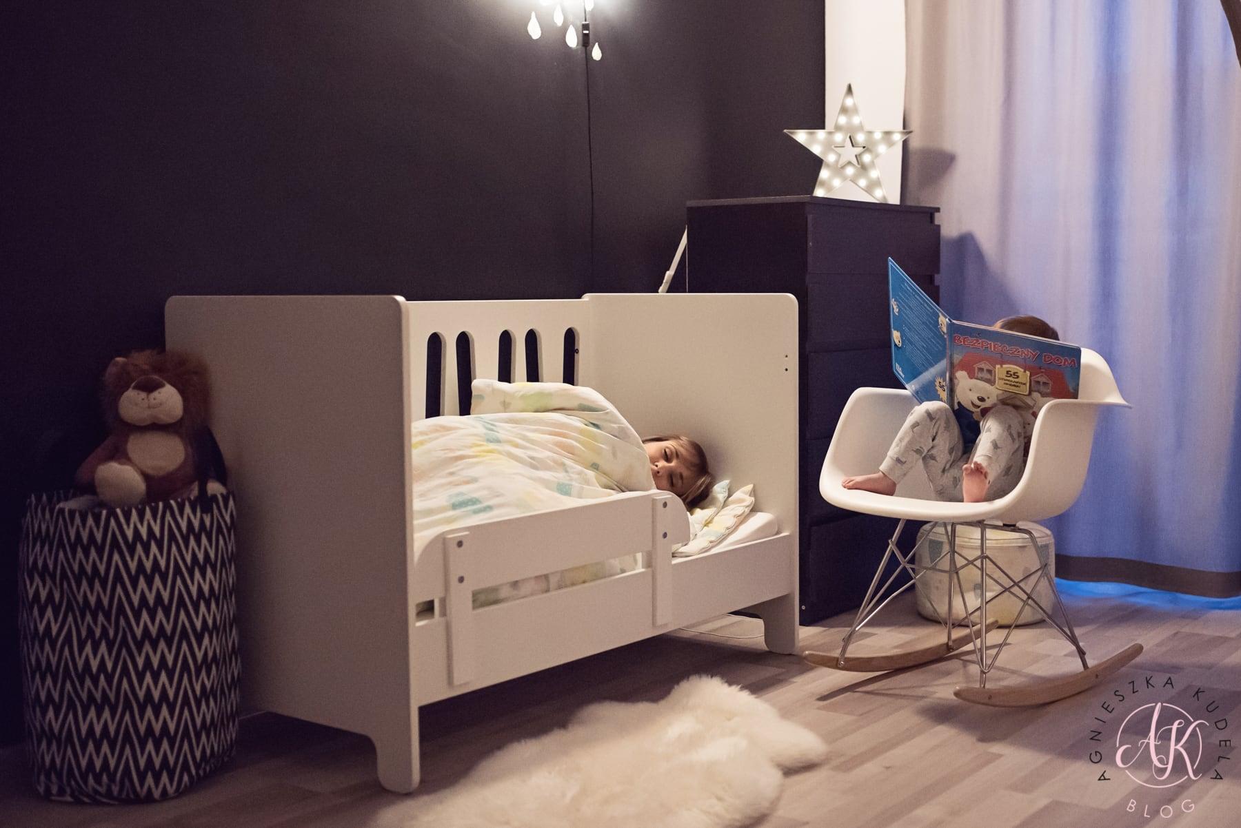strefa spania pokój dziecka