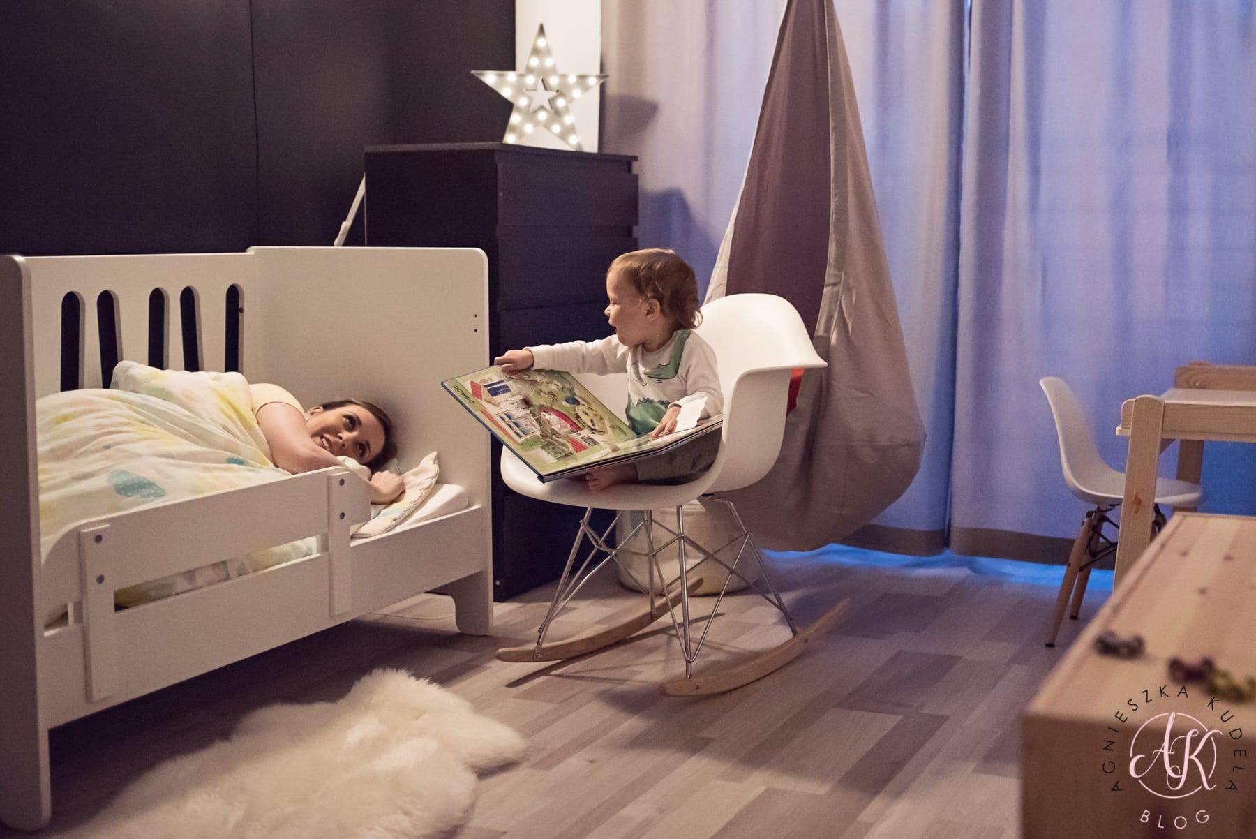 łóżeczko pokój dziecięcy