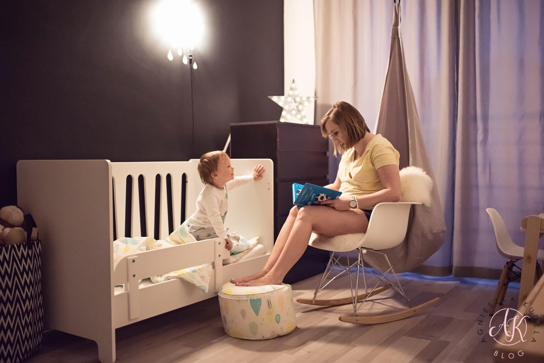 strefa do spania w pokoju dziecka
