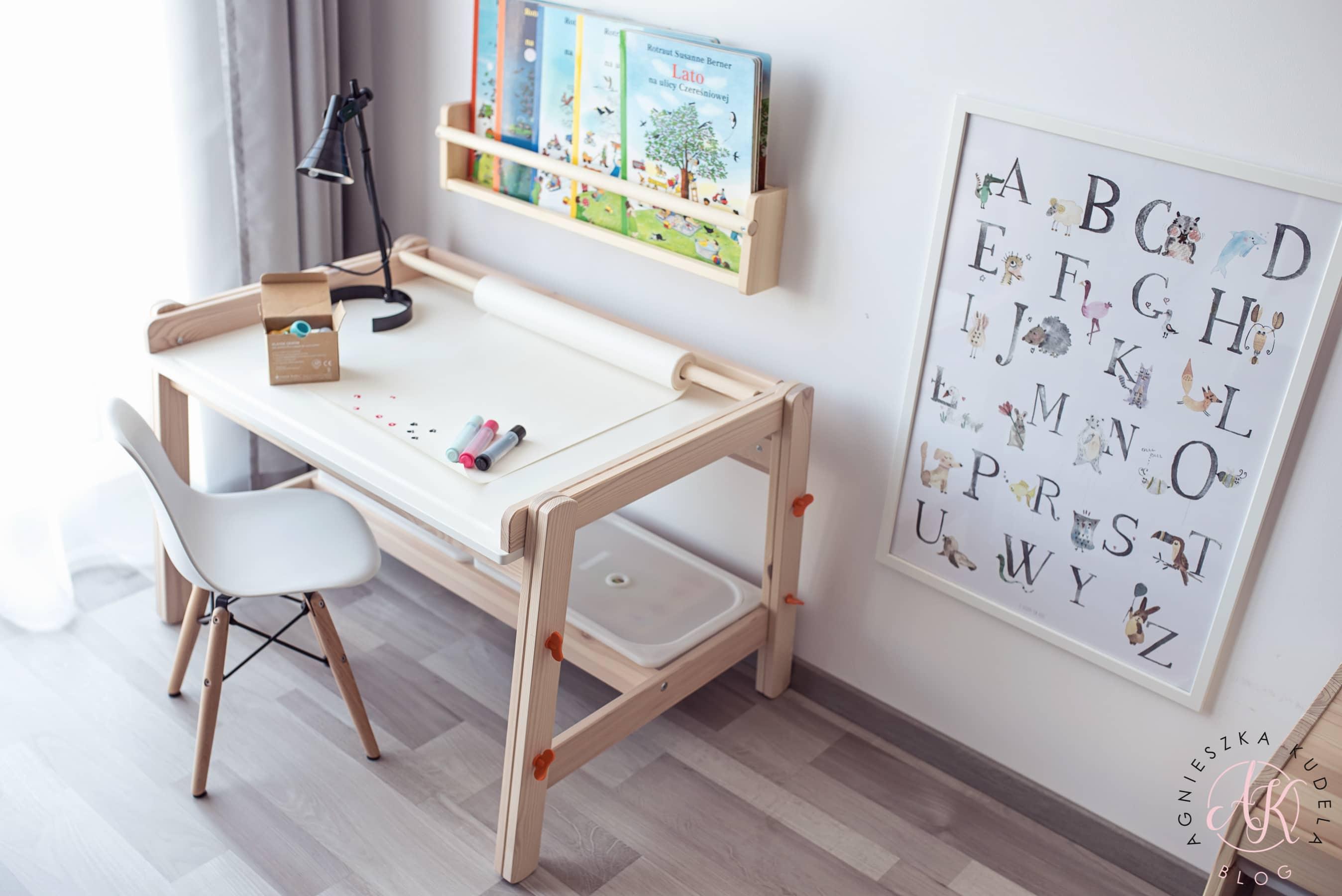 pokój dziecięcy krzesełko regulowana wysokość