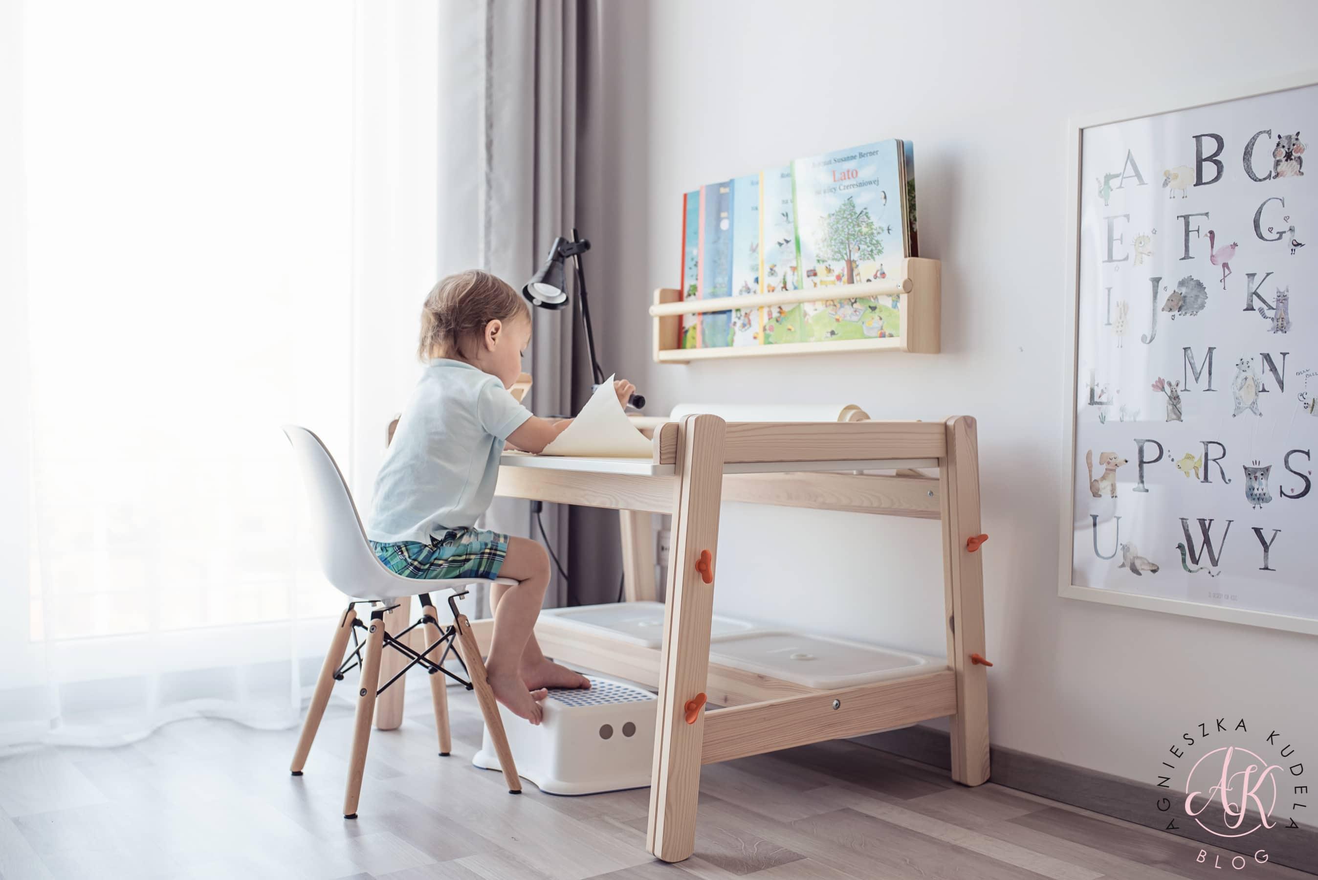 biurko dziecięce pokój dla dziecka