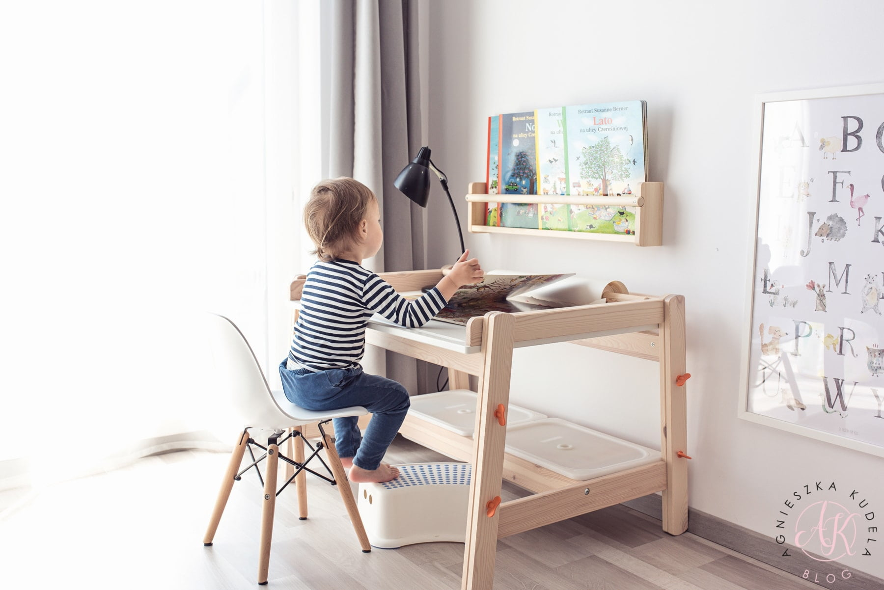 biurko dla dziecka pokój dziecięcy
