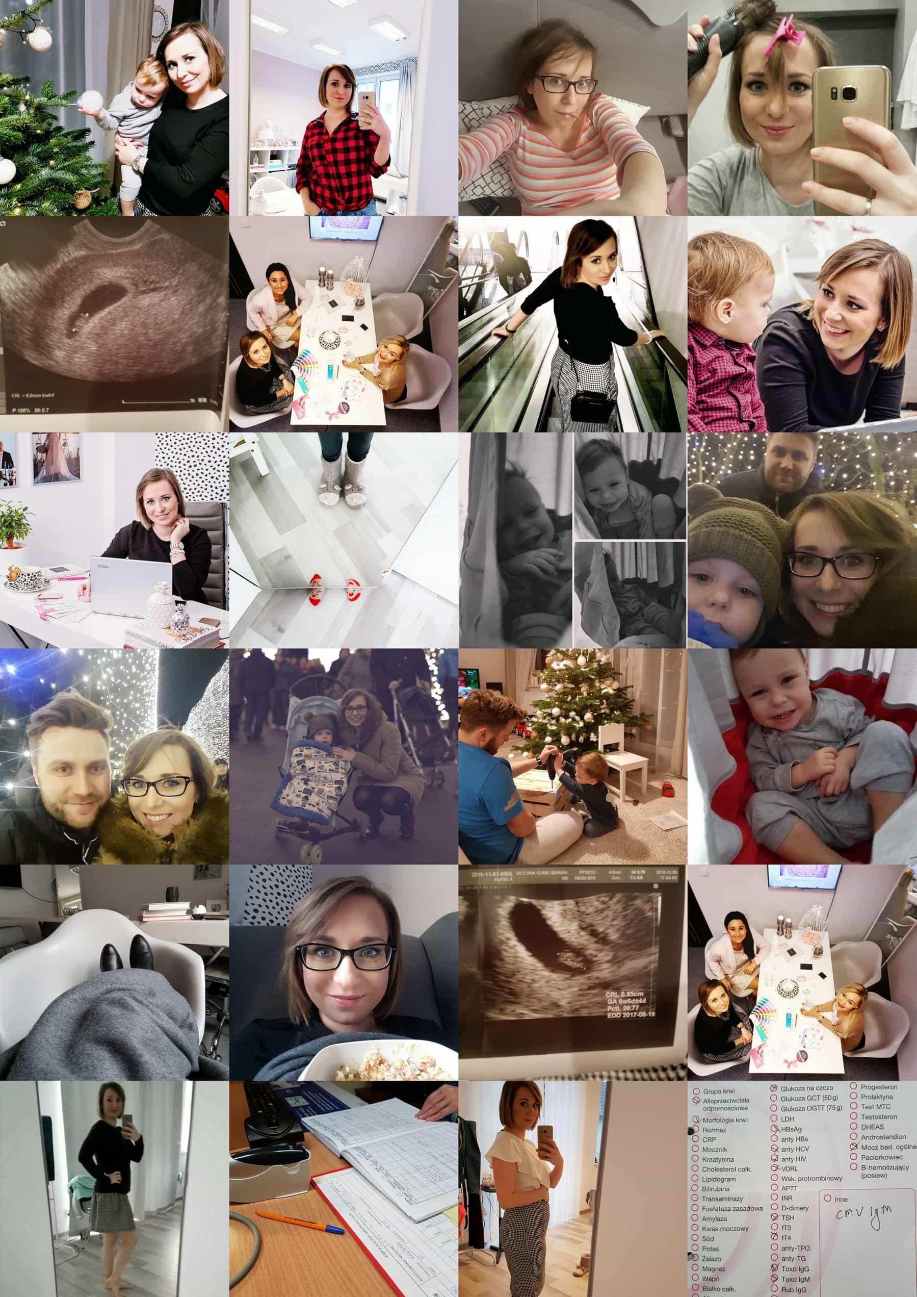 6 7 8 tydzień ciąży USG