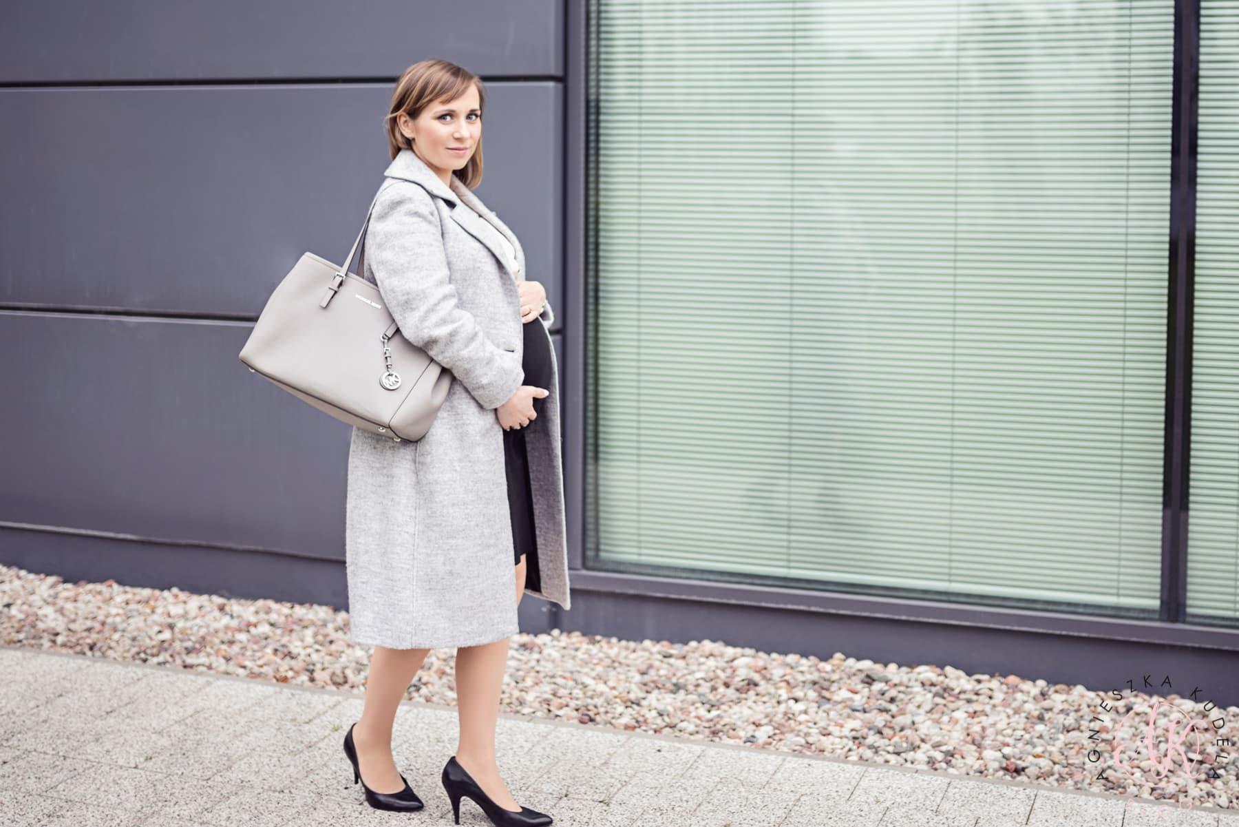 ubrania ciążowe do pracy