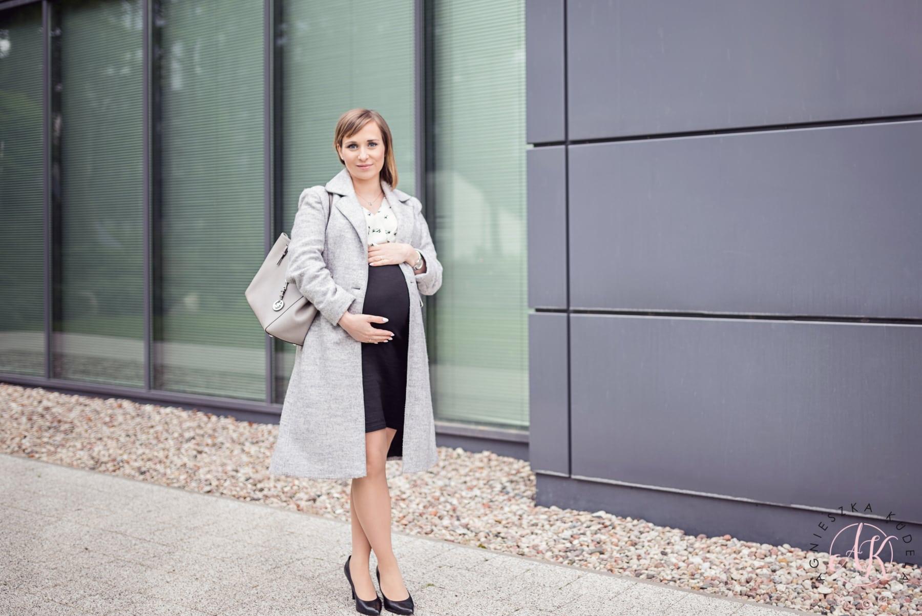 sukienka wizytowa ciążowa
