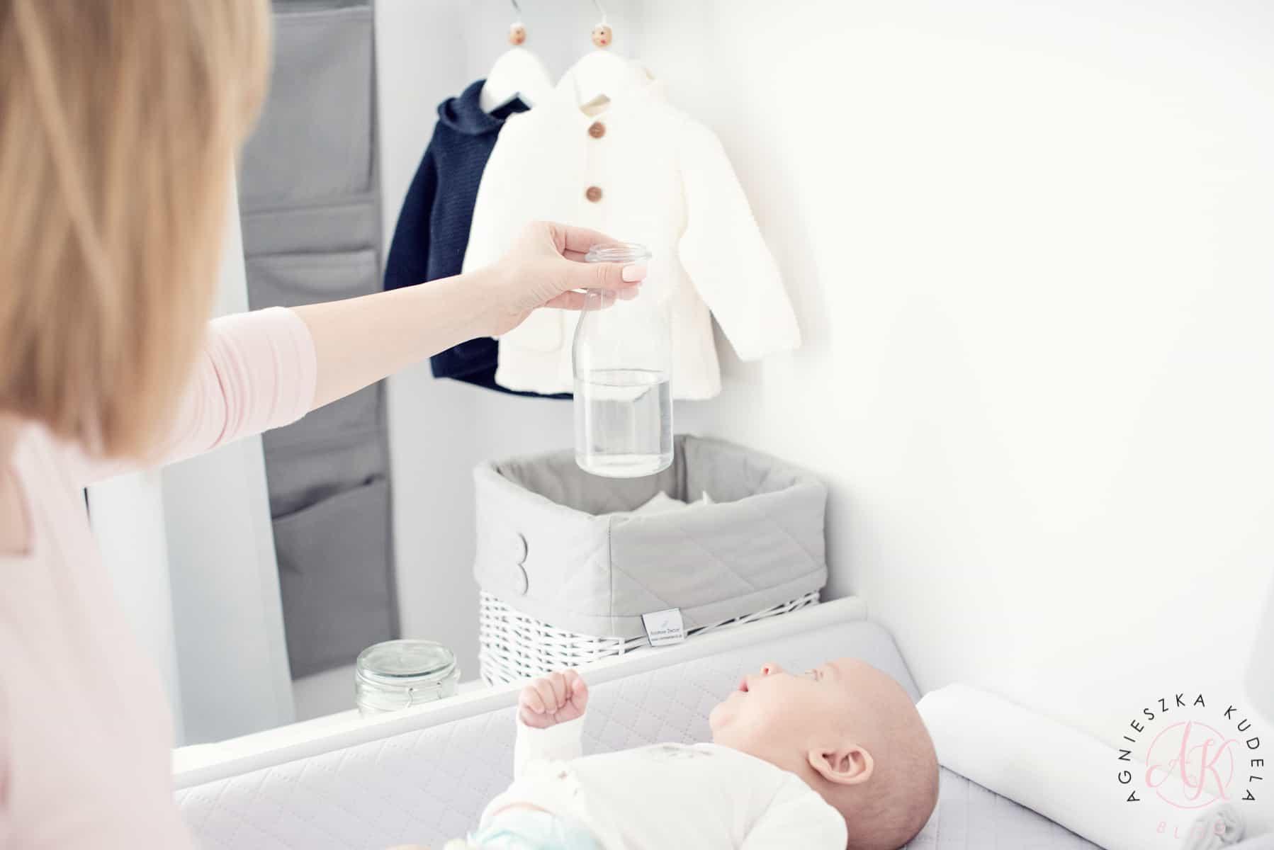 kącik do przewijania noworodka
