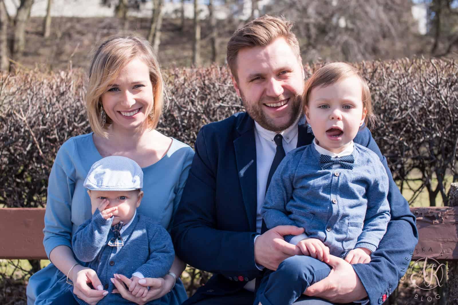 Strój na chrzest dla całej rodziny