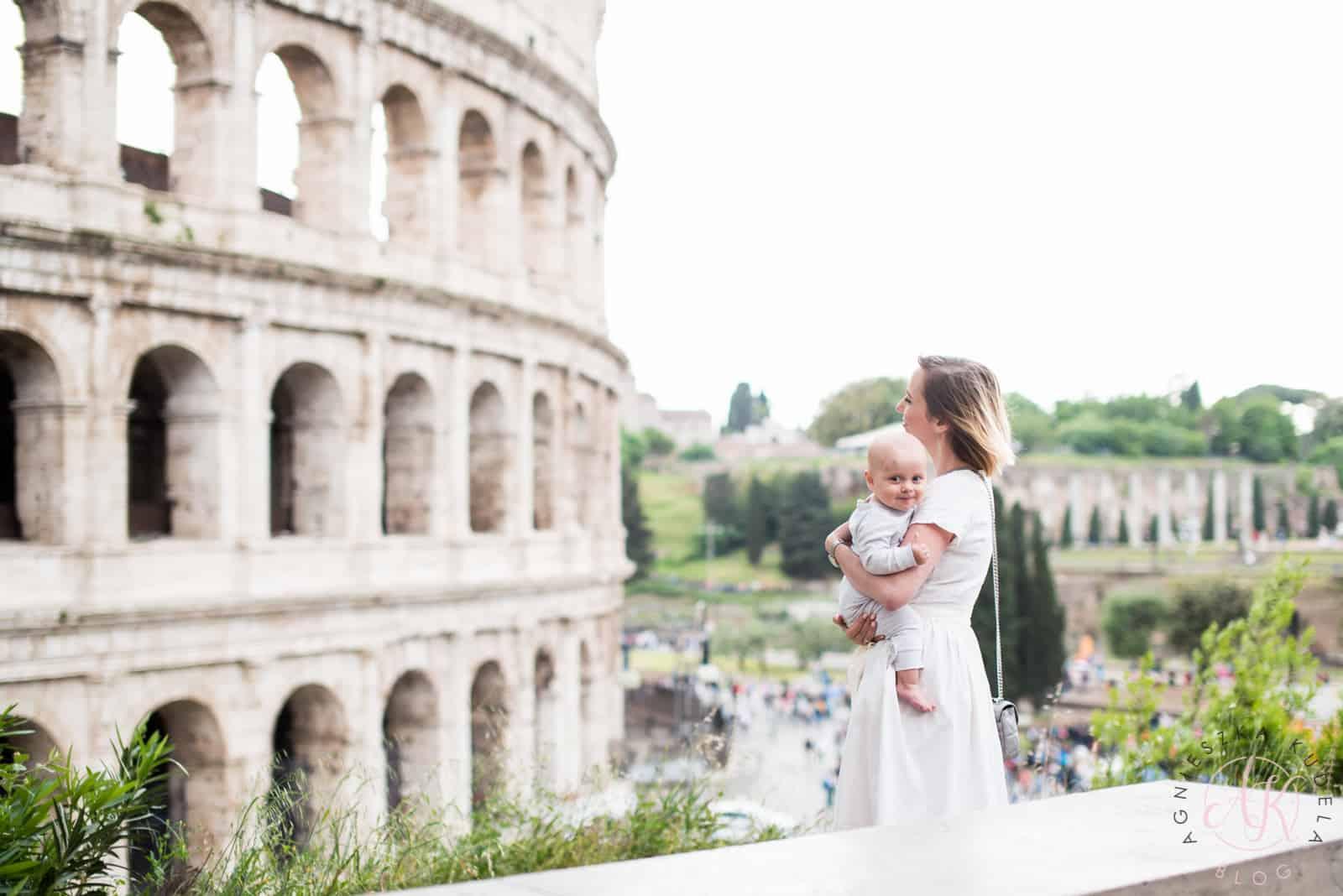 blog parentingowy sukienka Coloseum