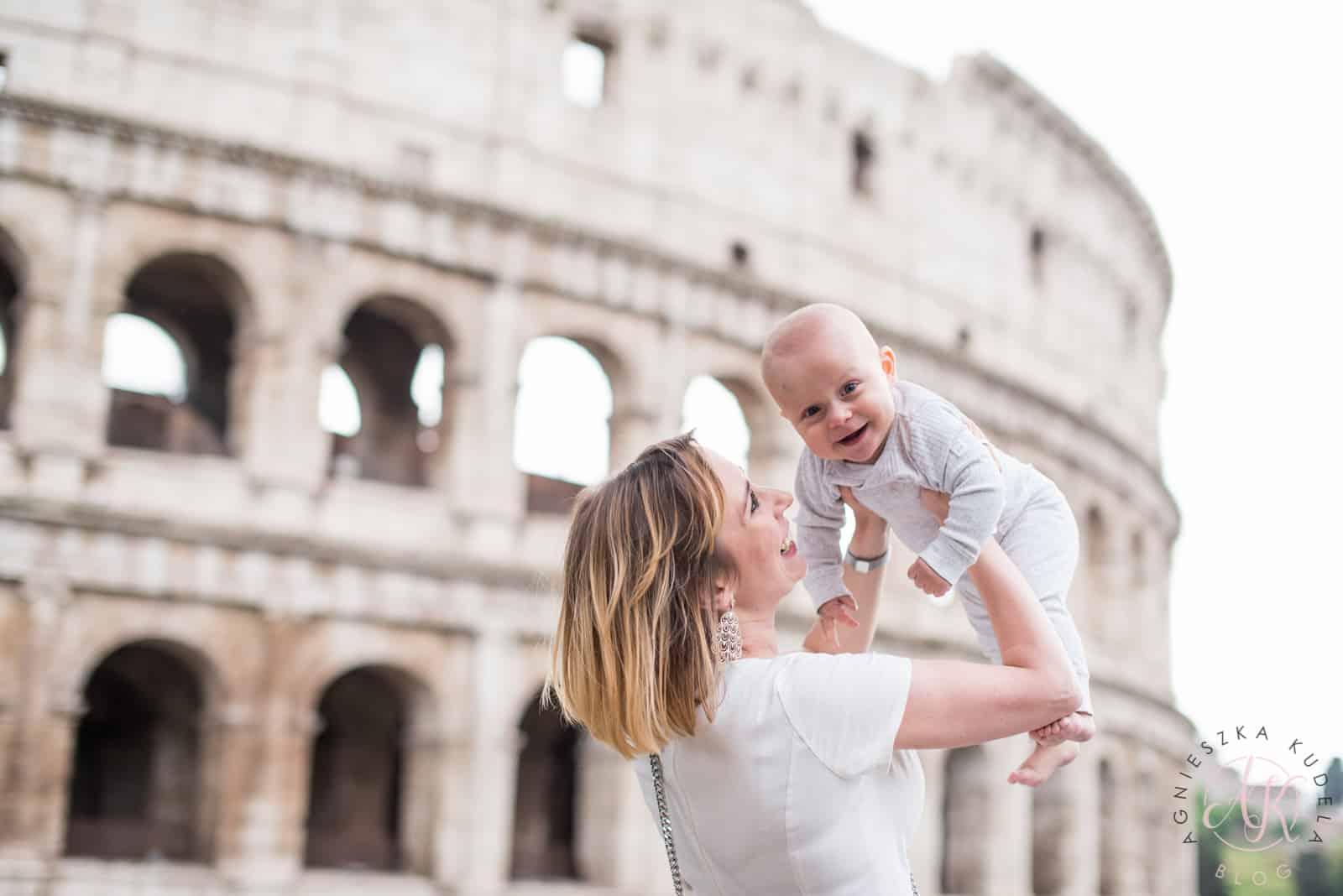 Strój na wakacje do Rzymu