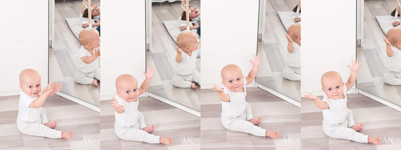 lustro w dziecięcym pokoju