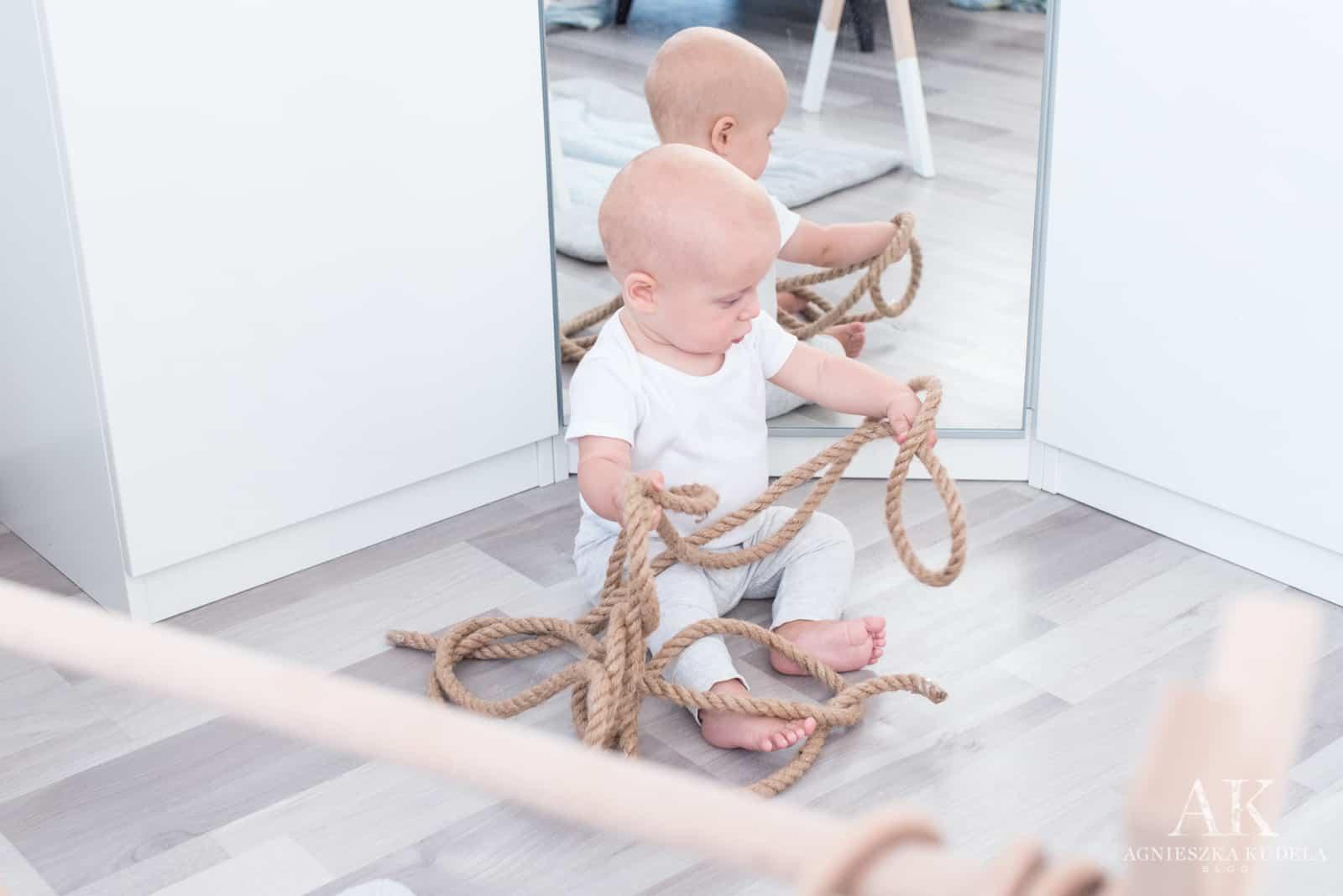 pomysłowe zabawki dla niemowlaka