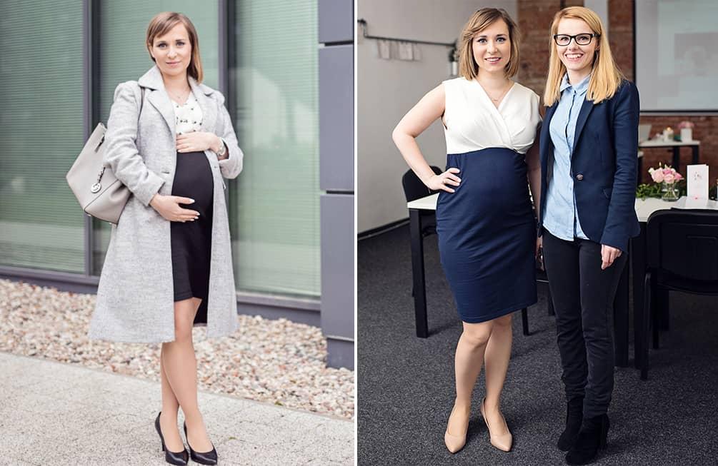 sukienki ciążowe ukrywające brzuszek