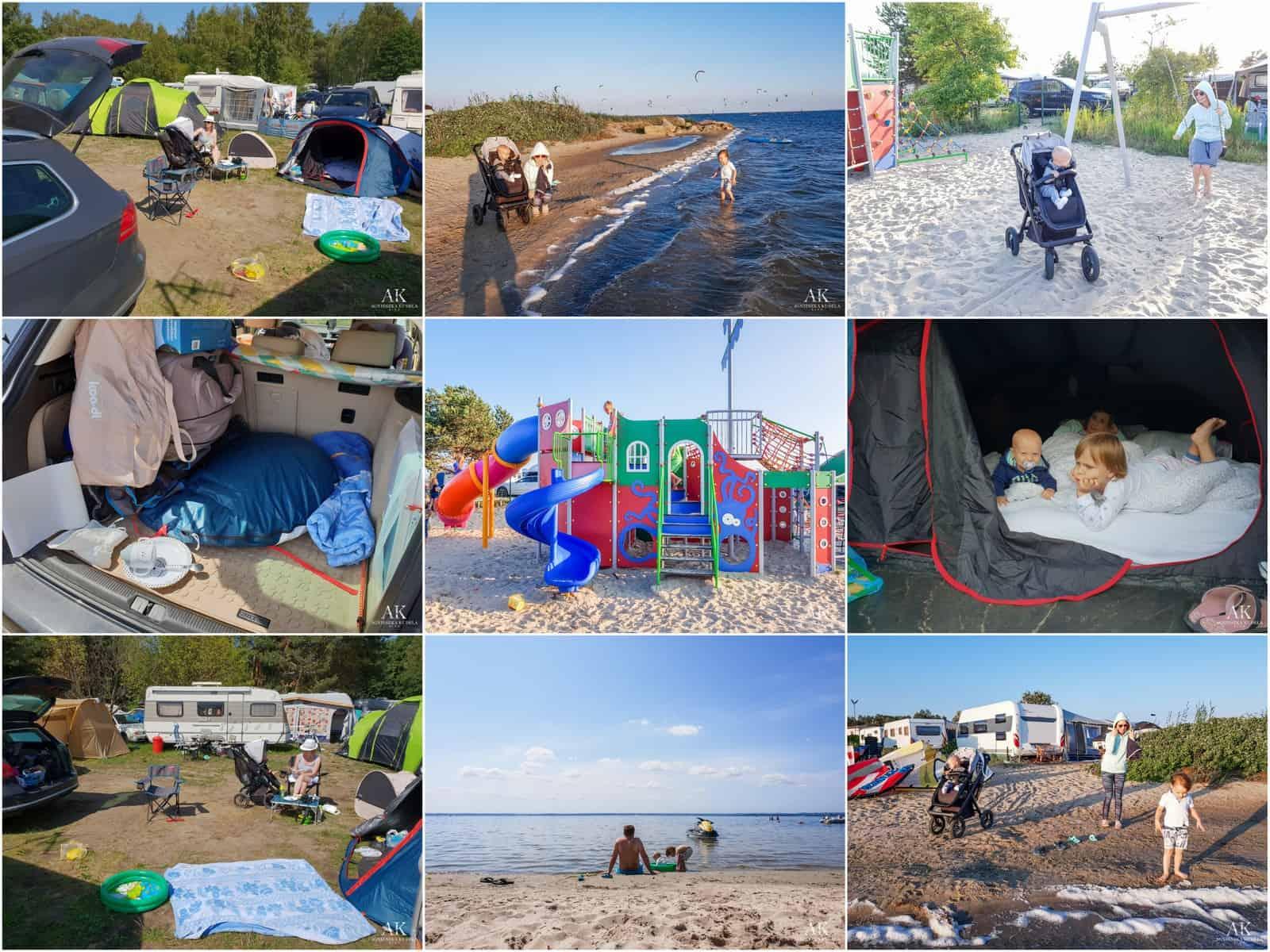 wakacje z dziećmi pod namiotem