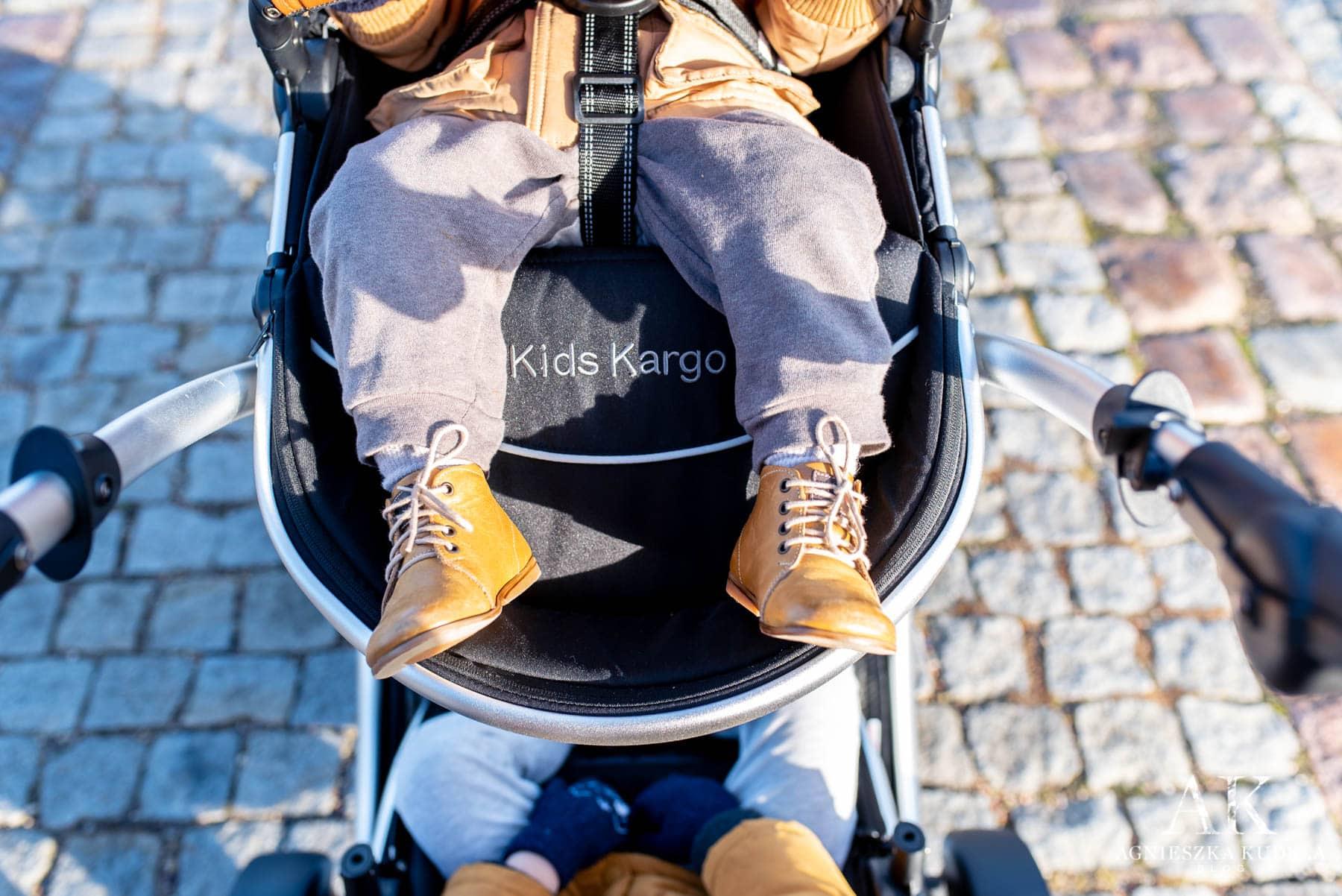 kids kargo regulowany podnóżek