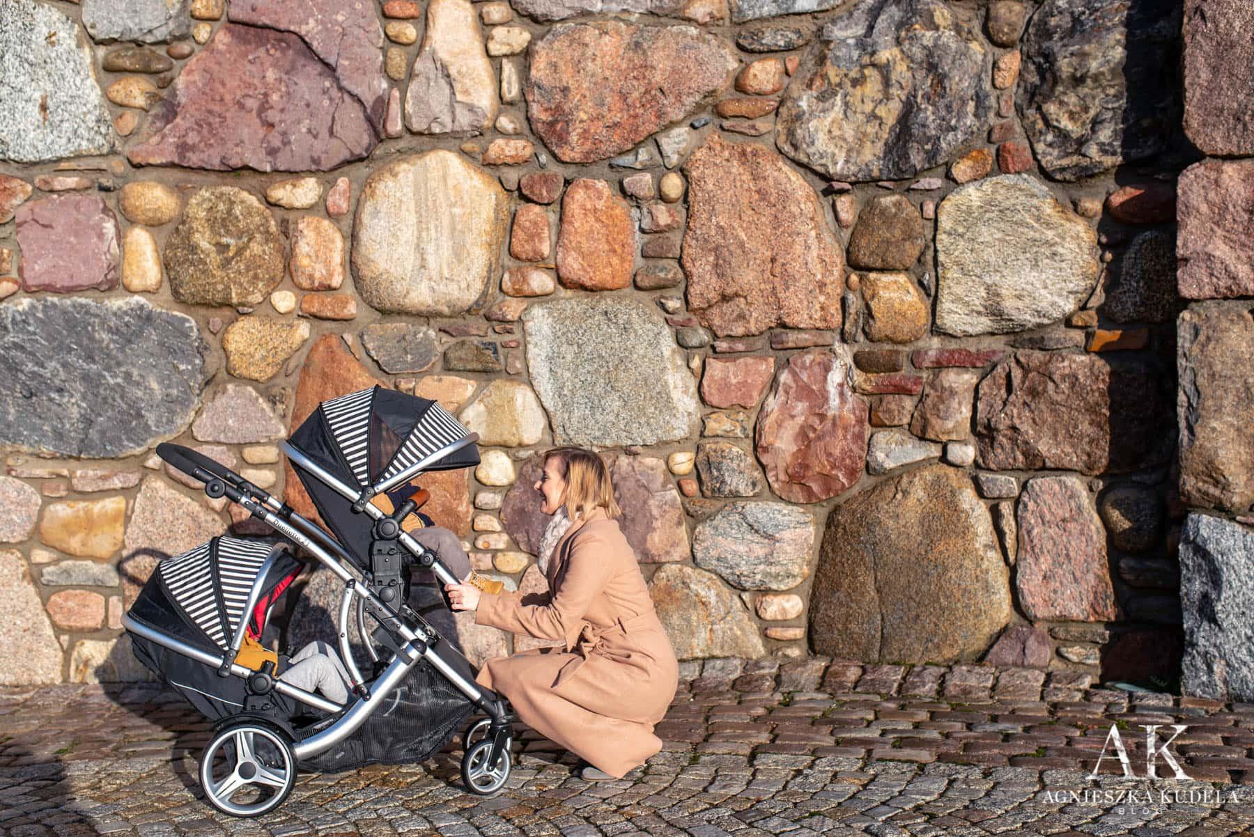 wózek dla dwójki dzieci