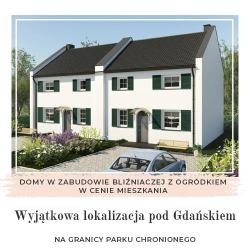 Gdańsk dom w cenie mieszkania