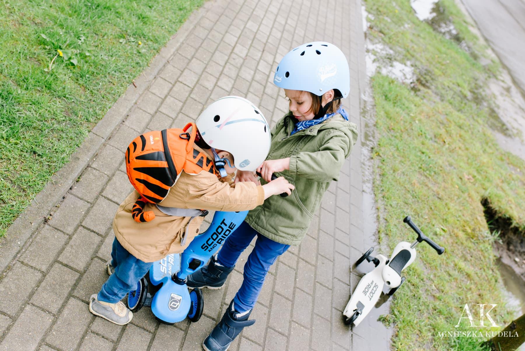 hulajnoga dla dzieci scoot and ride